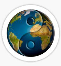 Yin Yang Earth 2017 Sticker