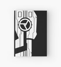 Less Meat, More 1337 - Black Hardcover Journal