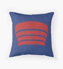 Frank Lloyd Wright Logo - NYC Guggenheim Museum Throw Pillow