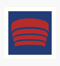 Lámina artística Logotipo de Frank Lloyd Wright - NYC Guggenheim Museum