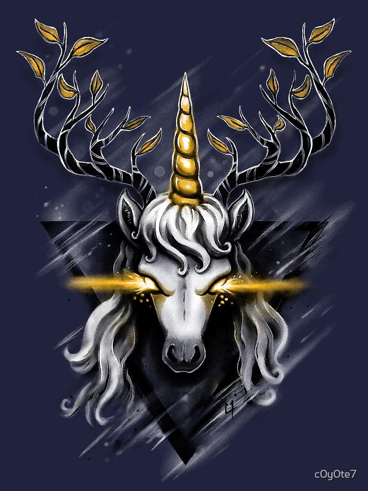 Deer Unicorn by c0y0te7