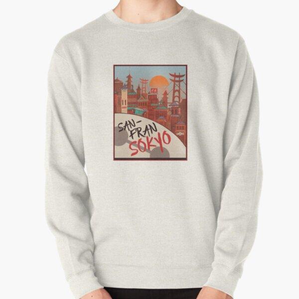 Big hero 6 Pullover Sweatshirt