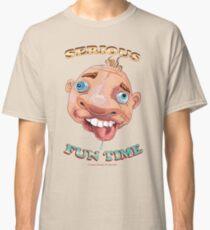 Wacky Face Design Classic T-Shirt