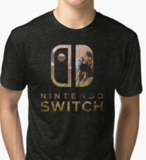 Nintendo Switch zelda Tri-blend T-Shirt