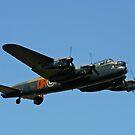 Battle of Britain Memorial Flight Lancaster by Bob Martin