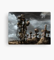 Imperial Guard Honor Canvas Print