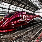 HighSpeed Thalys Amsterdam by Bob Martin