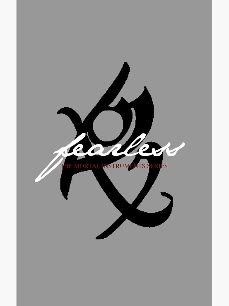 Fearless--The Mortal Instruments Series by jillmarbach