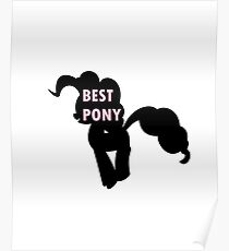 Pinkie Pie is Best Pony Poster