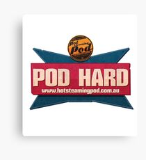 You can only POD HARD Canvas Print