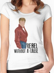 Rebel Without a Cause - James Dean Women's Fitted Scoop T-Shirt