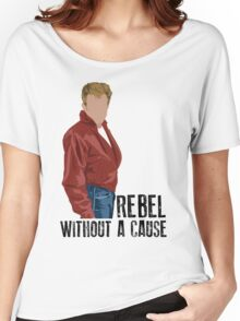 Rebel Without a Cause - James Dean Women's Relaxed Fit T-Shirt