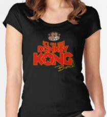 It's on like Donkey Kong! @#$%! Women's Fitted Scoop T-Shirt