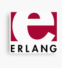 Erlang programming language logo Canvas Print