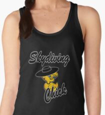 Skydiving Chick #4 Women's Tank Top