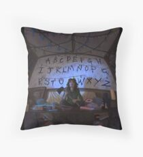 stranger things tv  Throw Pillow