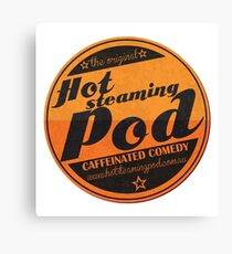 Hot Steaming Pod Shirt Canvas Print