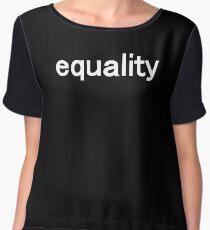 equality Women's Chiffon Top