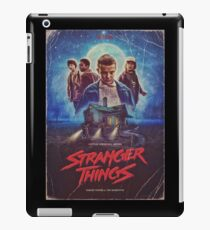 stranger things tv  iPad Case/Skin