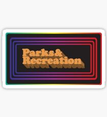 Parks and Rec Retro Logo Sticker