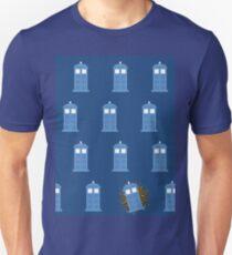 glitter tardis T-Shirt