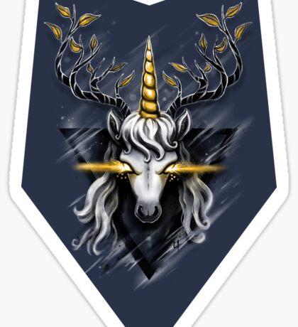 Deer Unicorn Sticker