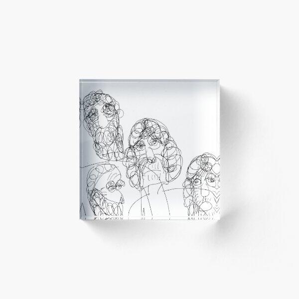 Family Acrylic Block