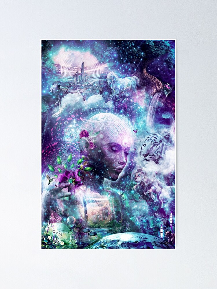 Alternate view of Discovering The Cosmic Consciousness Poster