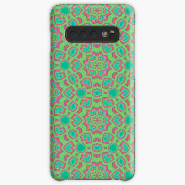 Intersecting Circles by Julie Everhart Samsung Galaxy Snap Case