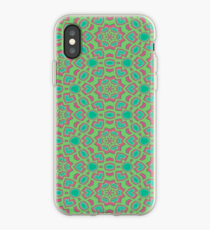 Intersecting Circles by Julie Everhart iPhone Case