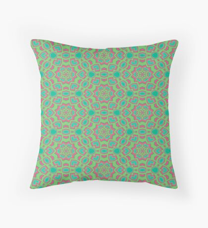 Intersecting Circles by Julie Everhart Throw Pillow