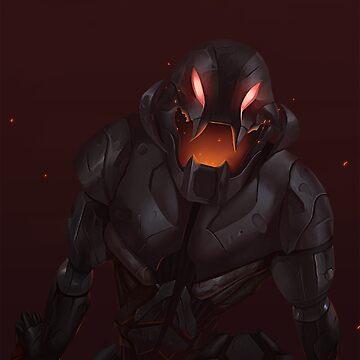 Ultron by metaliamart