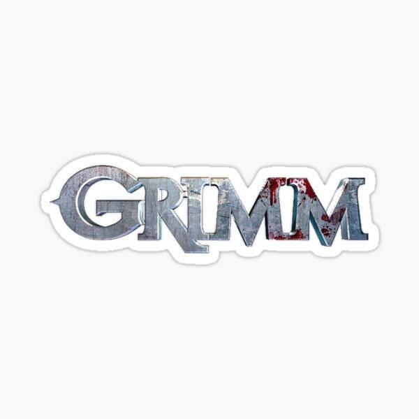 Grimm||Logo|| Sticker