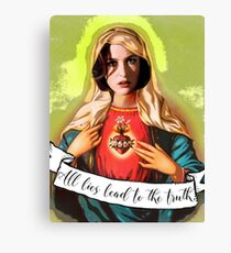 Holy Scully Canvas Print