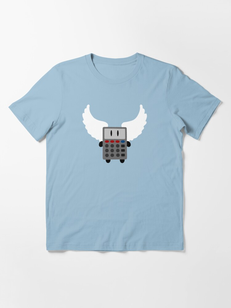 Alternate view of Angel Calculator Essential T-Shirt