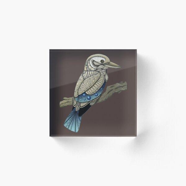 Kookaburra Acrylic Block