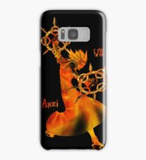 The Flurry of Dancing Flames Samsung Galaxy Case/Skin