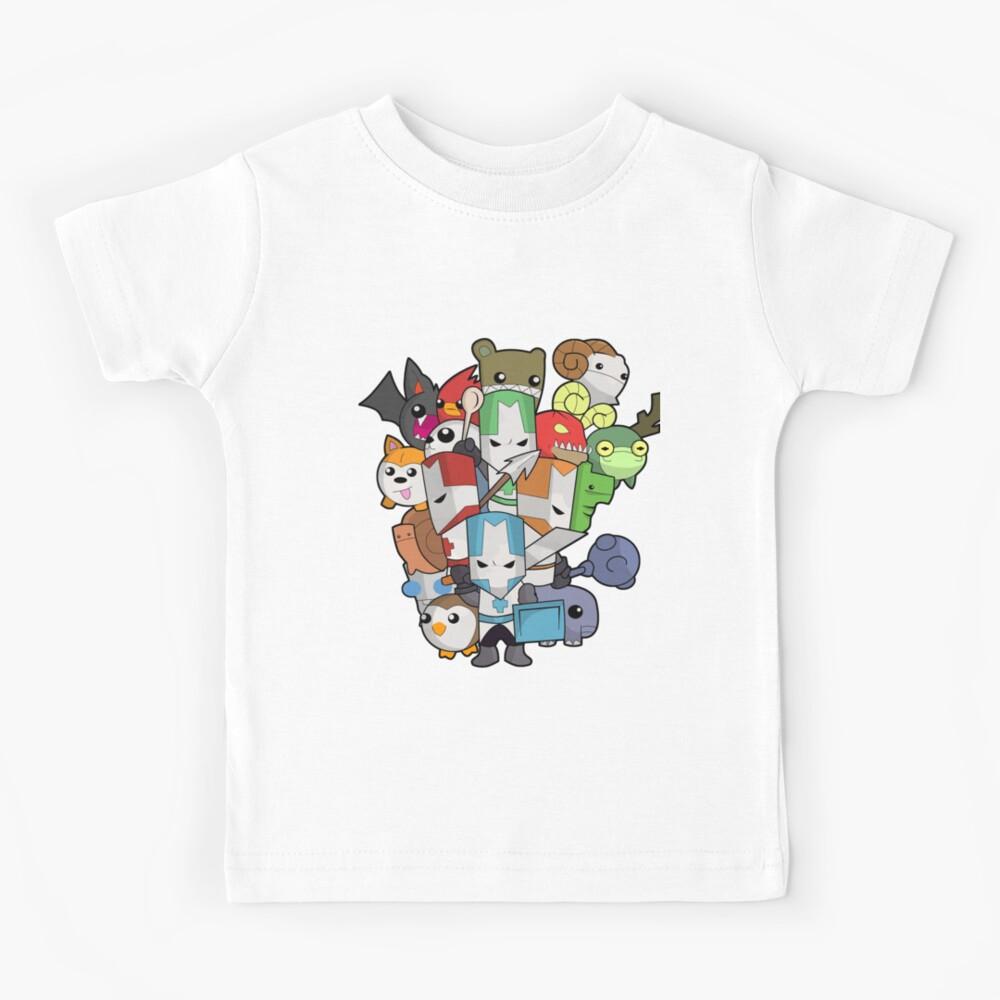 Castle Crasher all knight Kids T-Shirt