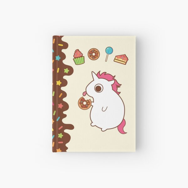 Treats and Sweets Hardcover Journal