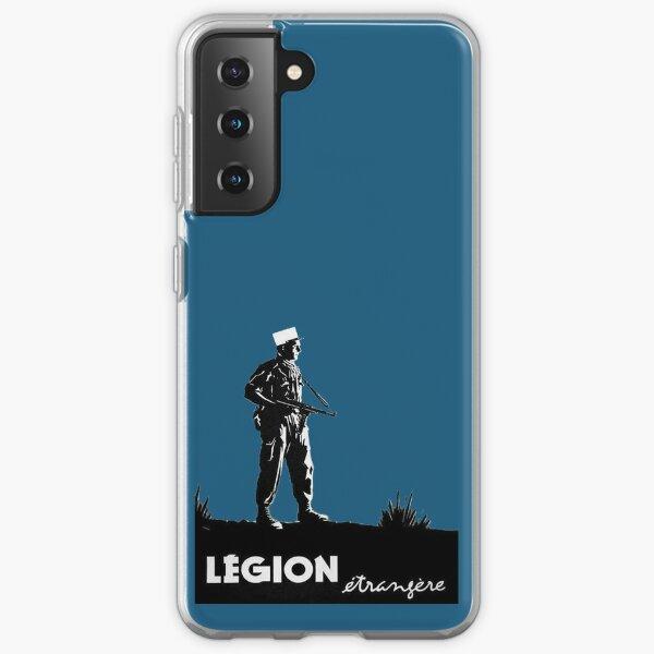 Légion étrangère Coque souple Samsung Galaxy