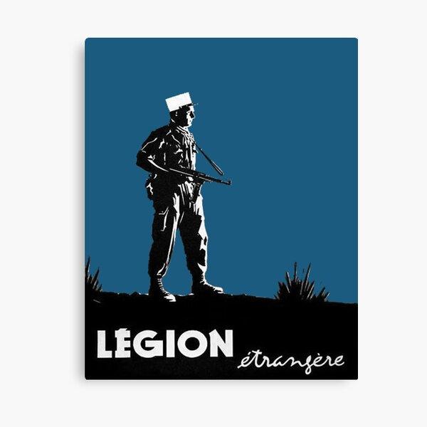 Légion étrangère Impression sur toile