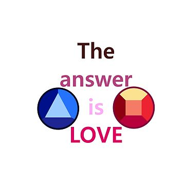 The Answer is Love (v1) by chaotichomo