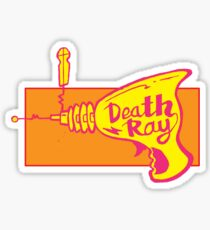 Death Ray Sticker