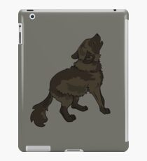 Shaggy Dog Dire Wolf Cub Puppy iPad Case/Skin