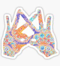 ASA Hands (Follow the Sun) Sticker