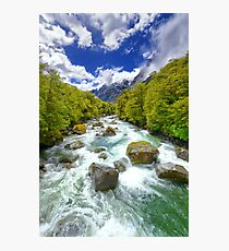 New Zealand Landscape 13 Photographic Print