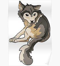 Nymeria Dire Wolf Cub Puppy Poster