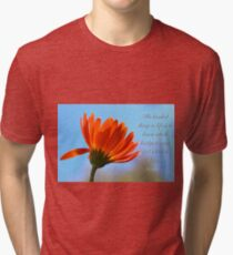 Bridge to burn Tri-blend T-Shirt