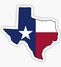Texas Flag on the Greatest State in America: Texas Sticker