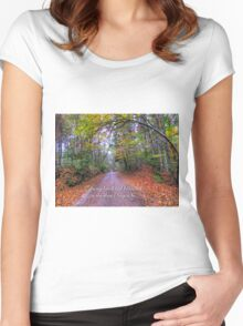 Follow me Women's Fitted Scoop T-Shirt